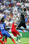 Goalkeeper Rui Patrício from Portugal during the match against France. Portugal won the Euro Cup beating in the final home team France at Saint Denis stadium in Paris, after winning on extra-time by 1-0.