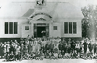 1896 The Pass School at Sunset Blvd., just east of Gordon St.