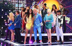 Alex Scott and Jamie Laing attending the Strictly Come Dancing Launch at the TV Centre, London
