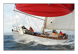 Day five of the Fife Regatta, Race from Portavadie on Loch Fyne to Largs. <br /> <br /> Sonata, Patrick  Caiger-Smith, GBR, Bermudan Sloop, Wm Fife 3rd, 1950<br /> <br /> * The William Fife designed Yachts return to the birthplace of these historic yachts, the Scotland's pre-eminent yacht designer and builder for the 4th Fife Regatta on the Clyde 28th June–5th July 2013<br /> <br /> More information is available on the website: www.fiferegatta.com