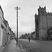 Towns in Ireland, Main Street Ardee, Co. Louth.04/04/1957