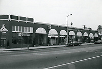 1978 Giannelli Square shops on Highland Ave. at DeLongpre Ave.