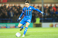 Ian Henderson during the EFL Sky Bet League 1 match between Rochdale and Oxford United at Spotland, Rochdale, England on 12 March 2019.