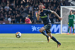 October 1, 2017 - Benevento, Italy - Marcelo Brozovic of Inter Milan during the Serie A match between Benevento and Inter Milan at Ciro Vigorito Stadium, Roma, Italy on 1 October 2017. (Credit Image: © Giuseppe Maffia/NurPhoto via ZUMA Press)