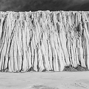 East side of Canada Glacier at Lake Fryxell