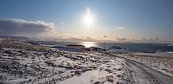 THEMENBILD - Vestfjaroeavegur 380 Reykholahreppur, aufgenommen am 23. Oktober 2019 in Island // Vestfjaroeavegur 380 Reykholahreppur, Iceland on 2019/10/23. EXPA Pictures © 2019, PhotoCredit: EXPA/ Peter Rinderer