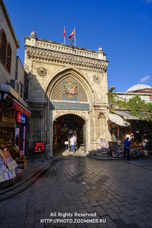 Grand Bazaar entrance gate #1, Istanbul