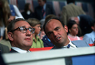 .Henry Kissinger and John Erlichman at the Republican Convention in 1972..PHOTO BY DENNIS BRACK B 5
