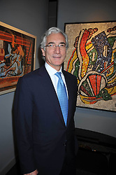 SIR RONALD COHEN at the Moet Hennessy Pavilion of Art & Design London Prize 2009 held in Berkeley Square, London on 12th October 2009.