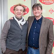 NLD/Amsterdam/20190414 - Premiere 't Schaep met de 5 Pooten, Jon van Eerd en partner