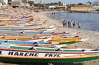 Senegal, Region de Dakar, Plage de N'Gor. // Senegal. Dakar area. N'Gor beach.