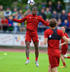 ROTTACH-EGERN, GERMANY - Friday, July 28, 2017: Liverpool's Georginio Wijnaldum during a training session at FC Rottach-Egern on day three of the preseason training camp in Germany. (Pic by David Rawcliffe/Propaganda)