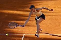 May 18, 2018 - Rome, Italy - Tennis WTA Internazionali d'Italia BNL quarter-finals..Maria Sharapova (RUS) at Foro Italico in Rome, Italy on May 18, 2018. (Credit Image: © Matteo Ciambelli/NurPhoto via ZUMA Press)