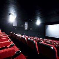 Nederland, Amsterdam , 9 november 2010..City-bioscoop na de verbouwing aan het Amsterdamse Leidseplein..Op de foto 1 van de zes bioscoop zalen..City cinema at Amsterdam's Leidseplein after renovation.