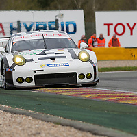 Porsche Team Manthey Porsche 911 RSR #92 driven by Richard Lietz / Frederic Makowiecki, WEC 6 Hours of Spa-Francorchamps 2015