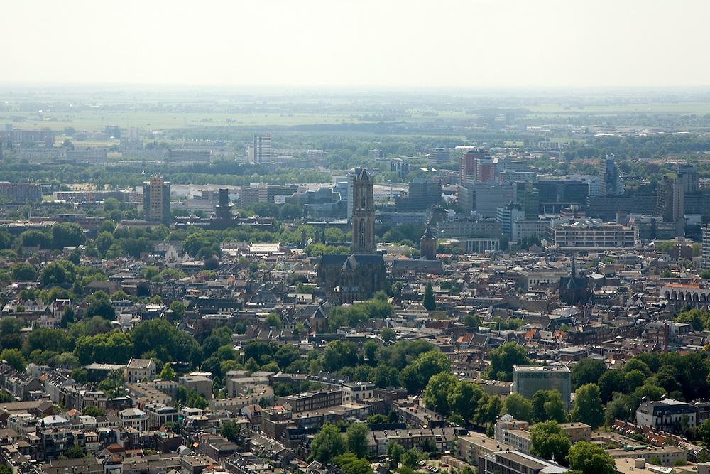 Nederland, Utrecht, Utrecht, 28-06-2006; luchtfoto (toeslag aerial photo (additional fee required .foto Siebe Swart / photo Siebe Swart