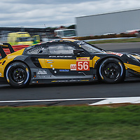 #56, Team Project 1, Porsche 911 RSR, LMGTE Am, driven by: Jorg Bergmeister, Patrick Lindsey, Egidio Perfetti on 16/08/2018 at the Silverstone 6H, 2018