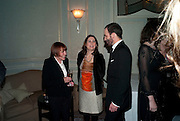 MARY QUANT; ALEX SHULMAN; TOM FORD, Dinner to mark 50 years with Vogue for David Bailey, hosted by Alexandra Shulman. Claridge's. London. 11 May 2010