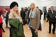 DAVID ALLAIN; BEX CROFTON-ATKINS; , Hoxton Sq projects auction in aid of Shelter. .- Hoxton sq. Gallery. 24 November 2010. . -DO NOT ARCHIVE-© Copyright Photograph by Dafydd Jones. 248 Clapham Rd. London SW9 0PZ. Tel 0207 820 0771. www.dafjones.com.