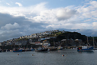 Mevagissey Harbour,The second largest ?shing port in Cornwall photo by brian jordan