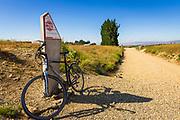High point marker on the Otago Central Rail Trail, Otago, South Island, New Zealand