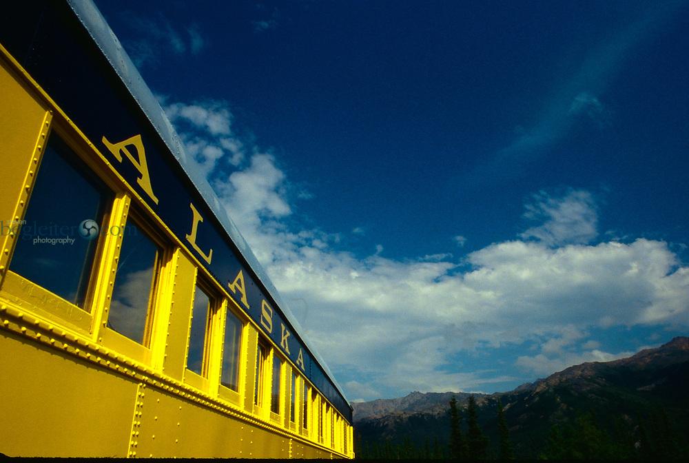 Train in Anchorage Alaska, Alaska Train