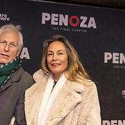 NLD/Amsterdam/20191118 - Filmpremiere Penoza: The Final Chapter, Ivan Wolffers en partner Marion Bloem