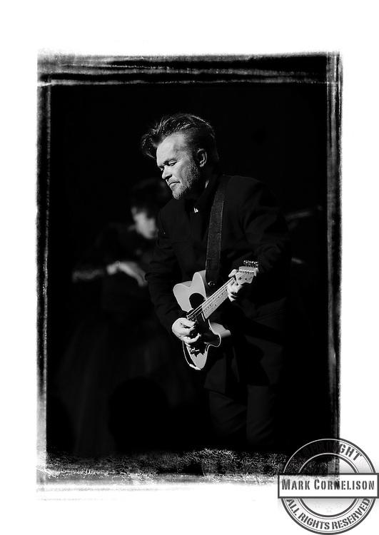 John Mellencamp performs during the PLAIN SPOKEN TOUR  2015 in Louisville, Ky. Photo by Mark Cornelison