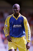 Jimmy Aggrey - Torquay. Kidderminater Harriers v Torquay United. League Division Three, 12/8/00. Credit Colorsport / Nick Kidd.