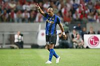 Fotball<br /> Italia<br /> Foto: Inside/Digitalsport<br /> NORWAY ONLY<br /> <br /> Adriano Inter<br /> <br /> 09.08.2008<br /> Ajax v Inter