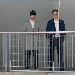v.l. Fabio Pfohl (Wolfsburg, 95), Tyler Haskins beim Spiel in der DEL, Grizzlys Wolfsburg (dunkel) - Nuernberg Ice Tigers (hell).<br /> <br /> Foto © PIX-Sportfotos *** Foto ist honorarpflichtig! *** Auf Anfrage in hoeherer Qualitaet/Aufloesung. Belegexemplar erbeten. Veroeffentlichung ausschliesslich fuer journalistisch-publizistische Zwecke. For editorial use only.