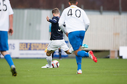 Falkirk's Rory Loy misses the penalty.<br /> Falkirk 1 v 1 Morton, Scottish Championship game today at The Falkirk Stadium.<br /> © Michael Schofield.