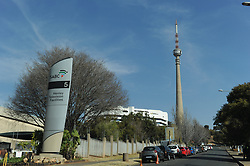 31-08-18. Johannesburg,  South African Broadcasting Corporation (SABC) in Auckland Park. Cars parked outside the SABC. Picture: Karen Sandison/African News Agency(ANA)