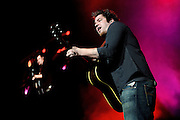 American Idol season 9 winner Lee DeWyze performing on the American Idols Live tour 2010 at the Scottrade Center in St. Louis, August 25, 2010.