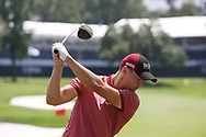 Martin Kaymer (GER) hits a driver on the practice range during the first round of the 100th PGA Championship at Bellerive Country Club, St. Louis, Missouri, USA. 8/9/2018.<br /> Picture: Golffile.ie | Brian Spurlock<br /> <br /> All photo usage must carry mandatory copyright credit (© Golffile | Brian Spurlock)