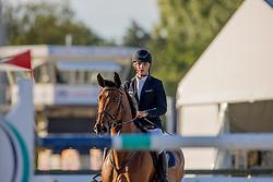 Cannaert Loic, BEL, Donna Doria Z<br /> Belgisch Kampioenschap Jeugd Azelhof - Lier 2020<br /> © Hippo Foto - Dirk Caremans<br /> 30/07/2020