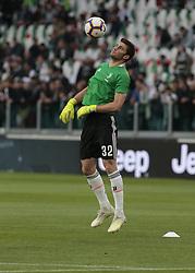 May 19, 2019 - Turin, ITA, Italy - Mattia Del Favero during Serie A match between Juventus v Atalanta, in Turin, on May 19, 2019  (Credit Image: © Loris Roselli/NurPhoto via ZUMA Press)