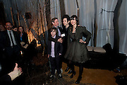 MAX RECORDS; SPIKE JONZE; NICK ZINNER;KAREN ORZOLEK, ( OF THE YEAH YEAH YEAHS) Where the Wild Things Are premiere after-party. The Old Post sorting Office. New Oxford St. London. 2 December 2009
