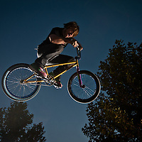 The KIB boys wick it up at the Eagle Cycle Park.