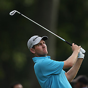 Brendon Todd in action during the third round of theThe Barclays Golf Tournament at The Ridgewood Country Club, Paramus, New Jersey, USA. 23rd August 2014. Photo Tim Clayton