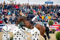 TEBBEL Maurice (GER), Chacco's Sohn<br /> Mannheim - Maimarkt Turnier 2019<br /> MAIMARKT-CHAMPIONAT VON MANNHEIM <br /> Int. Springprüfung mit Stechen (1.55 m) <br /> 05. Mai 2019<br /> © www.sportfotos-lafrentz.de/Stefan Lafrentz