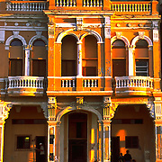 Golden beauty at Sunset on El, Malecon, Havana, Cub