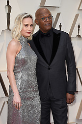Samuel L. Jackson, Brie Larson walking the red carpet as arriving to the 91st Academy Awards (Oscars) held at the Dolby Theatre in Hollywood, Los Angeles, CA, USA, February 24, 2019. Photo by Lionel Hahn/ABACAPRESS.COM