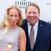 NLD/Amsterdam/201807 - Leading Ladies Awards 2018, Nyncke van den Berg en Kees Hogetoorn