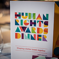 New Israel Fund Human Rights Awards Dinner 04.11.2018
