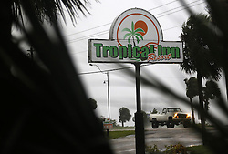October 7, 2016 - Palm Bay, FL, USA - As Hurricane Matthew barreled down the Treasure Coast, the Tropical Inn Resort became a haven for those who were already seeking refuge from their own addiction. (Credit Image: © Carl Juste/TNS via ZUMA Wire)