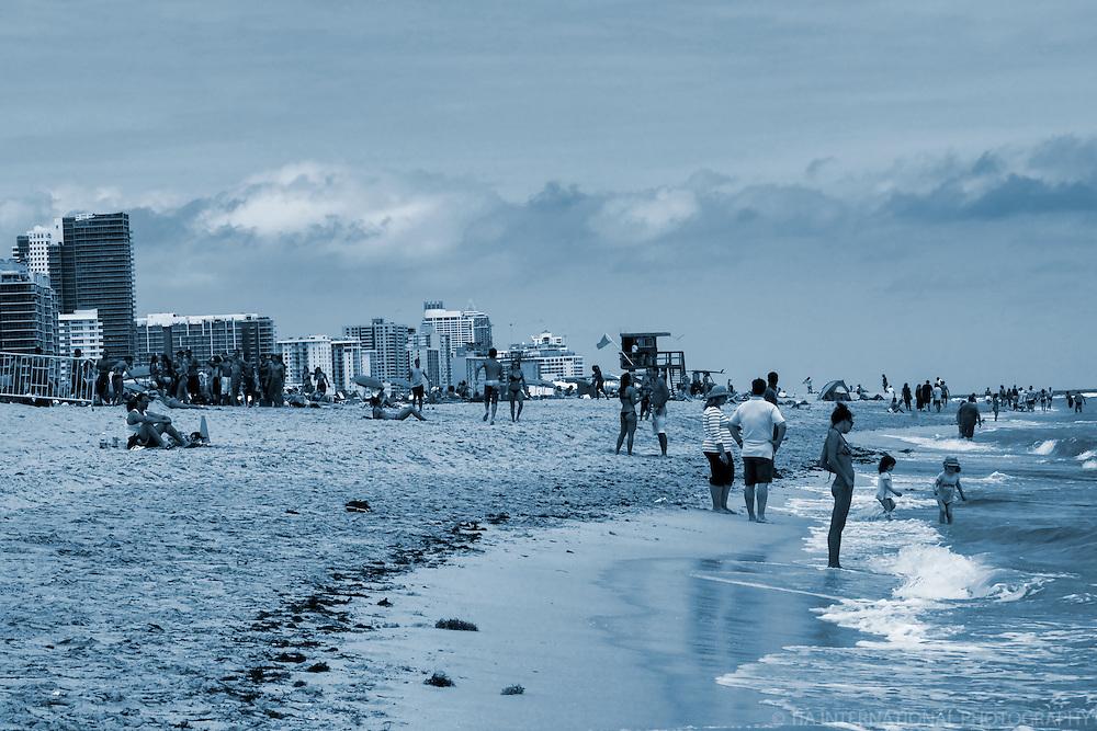 South Beach (monochrome - 2)