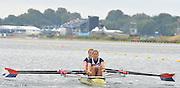 Eton Dorney, Windsor, Great Britain,..2012 London Olympic Regatta, Dorney Lake. Eton Rowing Centre, Berkshire[ Rowing]...Description; Women's Repechage. USA W2X,  Margot SHUMWAY and Sarah TROWBRIDGE, move awayf rom the start pontoon. Dorney Lake. 09:50:16  Tuesday  31/07/2012 [Mandatory Credit: Peter Spurrier/Intersport Images]  .