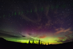 September 29, 2016 - Northern lights, auroral arc, Nickel Plate Provincial Park, Penticon, British Columbia, Canada (Credit Image: © Lrtimelapse 4.7.1 - Licensed To/Image Source via ZUMA Press)