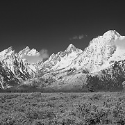 Grand Tetons, WY - Infrared Black & White